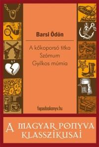 Cover kokoporso titka / Szamum / Gyilkos mumia