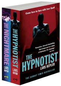 Cover Joona Linna Crime Series Books 1 and 2: The Hypnotist, The Nightmare