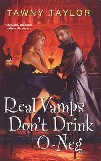 Cover Real Vamps Don't Drink O-neg