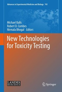 Cover New Technologies for Toxicity Testing