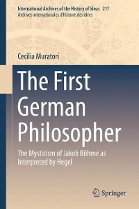 Cover The First German Philosopher