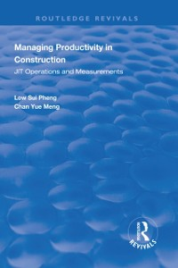 Cover Managing Productivity in Construction