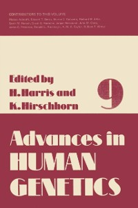 Cover Advances in Human Genetics