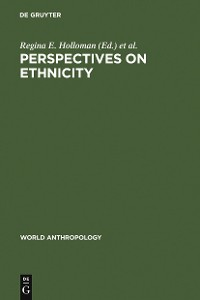 Cover Perspectives on Ethnicity