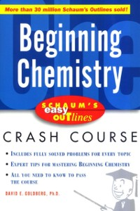 Cover Schaum's Easy Outline of Beginning Chemistry