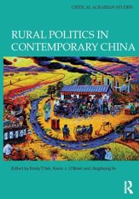 Cover Rural Politics in Contemporary China
