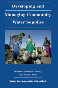 Cover Developing and Managing Community Water Supplies