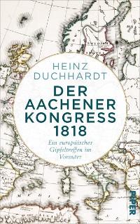 Cover Der Aachener Kongress 1818