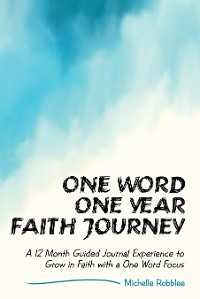 Cover One Word One Year Faith Journey