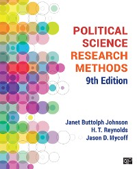 Cover Political Science Research Methods