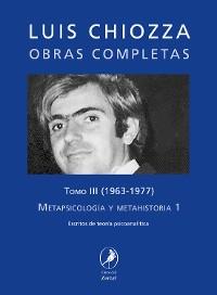 Cover Obras completas de Luis Chiozza Tomo III