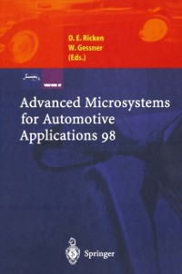 Cover Advanced Microsystems for Automotive Applications 98