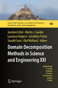 Cover Domain Decomposition Methods in Science and Engineering XXI