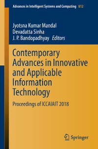 Cover Contemporary Advances in Innovative and Applicable Information Technology