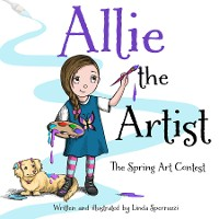 Cover Allie the Artist The Spring Art Contest