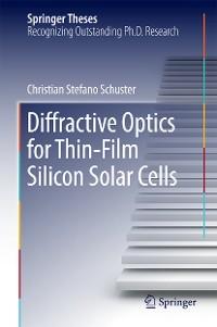 Cover Diffractive Optics for Thin-Film Silicon Solar Cells