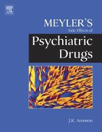 Cover Meyler's Side Effects of Psychiatric Drugs