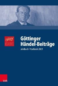 Cover Göttinger Händel-Beiträge, Band 22