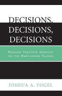 Cover Decisions, Decisions, Decisions