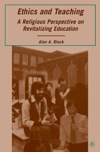 Cover Ethics and Teaching