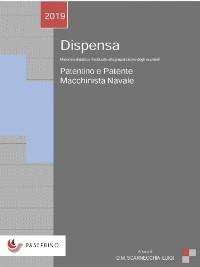 Cover Dispensa Patentino e Patente Macchinista Navale