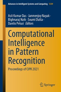 Cover Computational Intelligence in Pattern Recognition