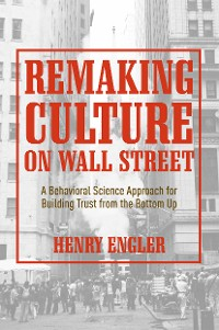 Cover Remaking Culture on Wall Street