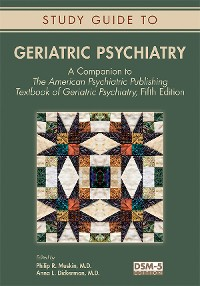 Cover Study Guide to Geriatric Psychiatry
