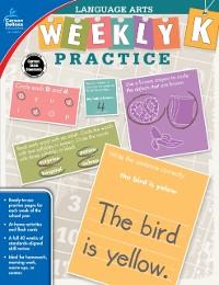 Cover Language Arts, Grade K