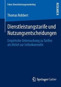 Cover Dienstleistungstarife und Nutzungsentscheidungen