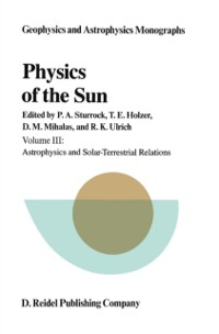 Cover Physics of the Sun
