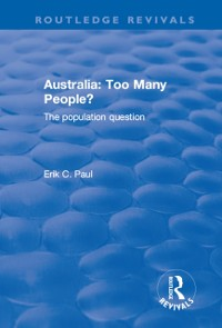 Cover Australia: Too Many People? - The Population Question