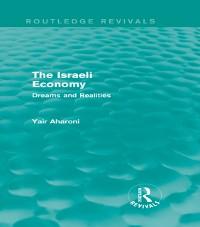 Cover Israeli Economy (Routledge Revivals)