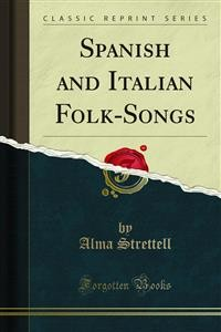Cover Spanish and Italian Folk-Songs