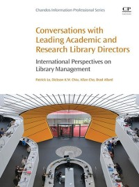 Cover Conversations with Leading Academic and Research Library Directors