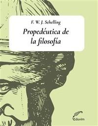 Cover Propedéutica de la filosofía