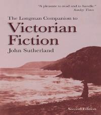 Cover Longman Companion to Victorian Fiction