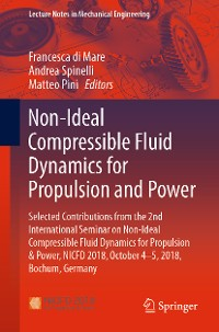 Cover Non-Ideal Compressible Fluid Dynamics for Propulsion and Power