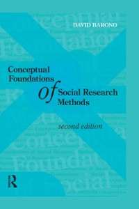 Cover Conceptual Foundations of Social Research Methods