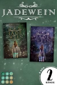 """Cover Jadewein: Sammelband der märchenhaft-magischen Fantasy-Reihe """"Jadewein"""""""