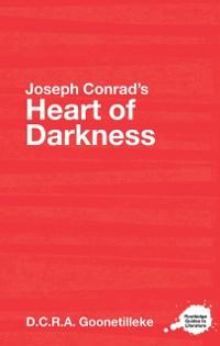 Cover Joseph Conrad's Heart of Darkness