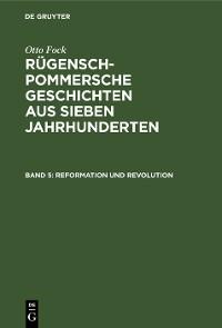 Cover Reformation und Revolution