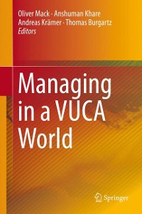 Cover Managing in a VUCA World