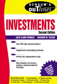 Cover Schaum's Outline of Investments