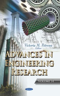 Cover Advances in Engineering Research. Volume 31