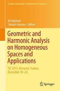 Cover Geometric and Harmonic Analysis on Homogeneous Spaces and Applications
