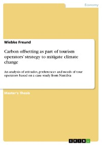 Cover Carbon offsetting as part of tourism operators' strategy to mitigate climate change