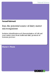 Cover Iran, the potential source of dairy starter microorganisms