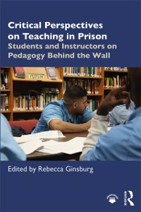 Cover Critical Perspectives on Teaching in Prison