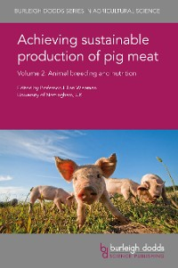Cover Achieving sustainable production of pig meat Volume 2